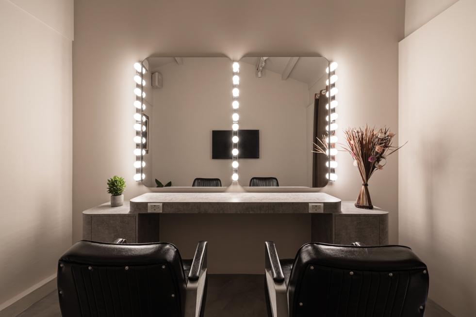 嘉義,空間攝影,室內完工拍攝,三川二目,MOON PARK Lounge Hair Salon