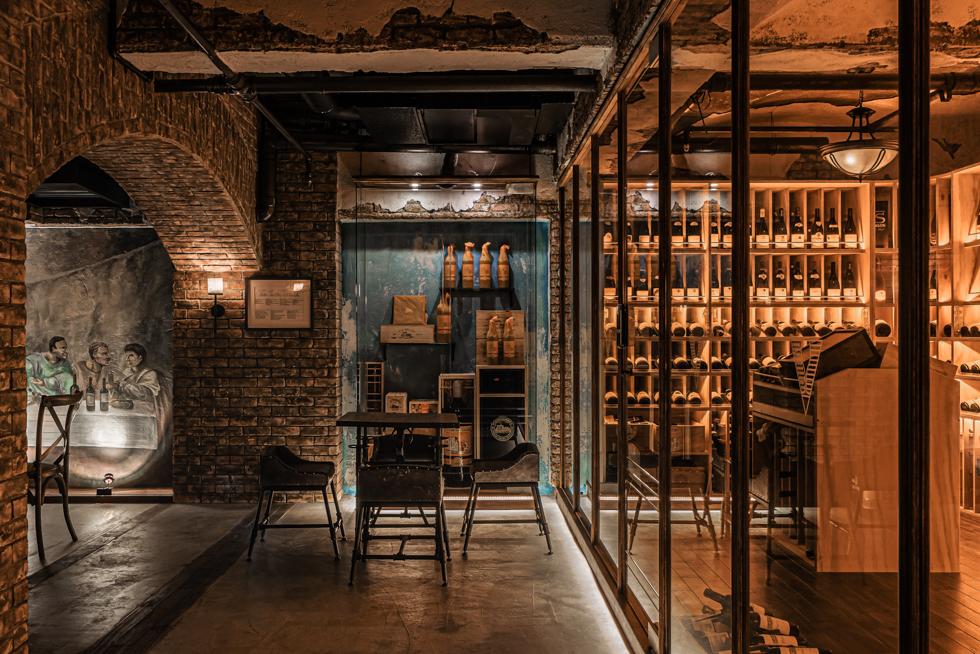 袁宗南照明設計,樂活酒窖,空間攝影,三川二目,台中,照明攝影,La Vie Wine,2020 IALD Award Winners